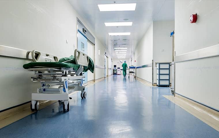the interior of a hospital in bonifay florida