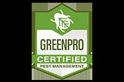 greenpro certified pest management logo