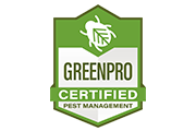 greenpro certified pest management logo