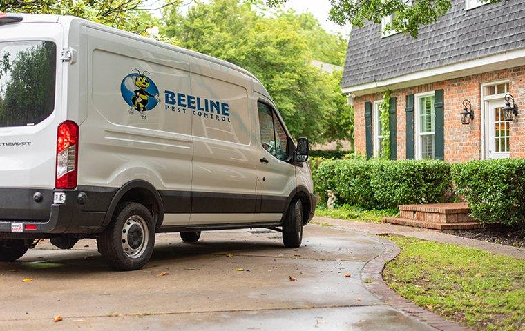 company van near home