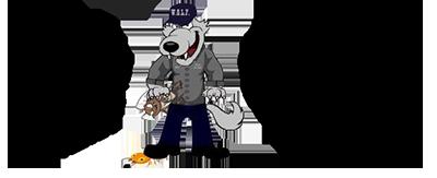 wolf pest control logo