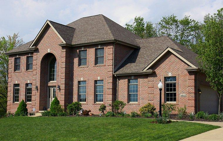 a large brick house in leander texas
