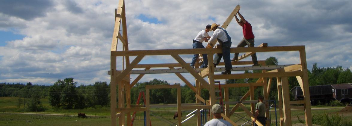 Raising roof frames