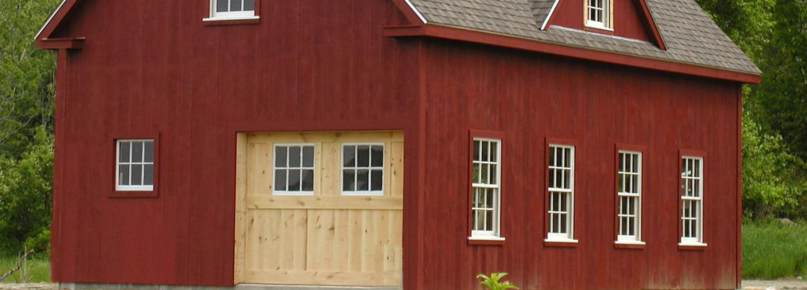 Deer Isle barn
