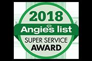 angies list super service award logo