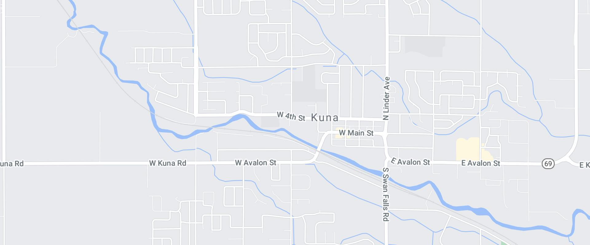map of kuna idaho