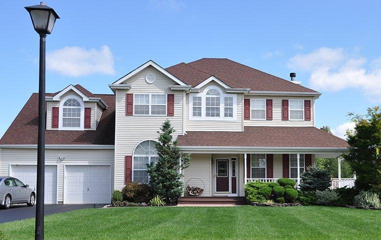 a large suburban home in binghamton new york