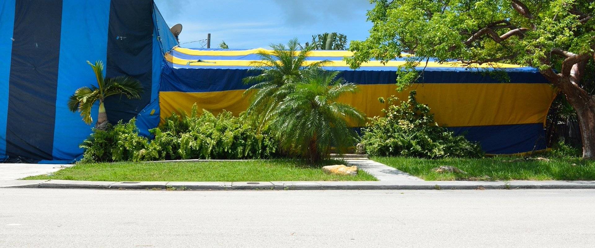 fumigation tent around home