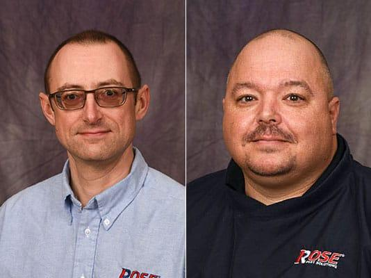 headshots of Billie Jones and Steve Currier. Supervisors for Cincinnati and Cleveland.