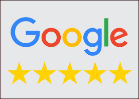 image of google review five star