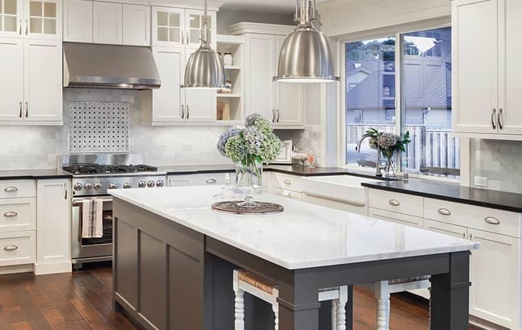 interior residential kitchen