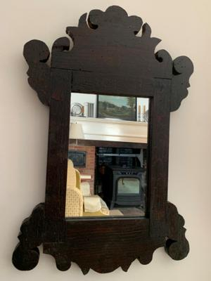 Country Chippendale mirror