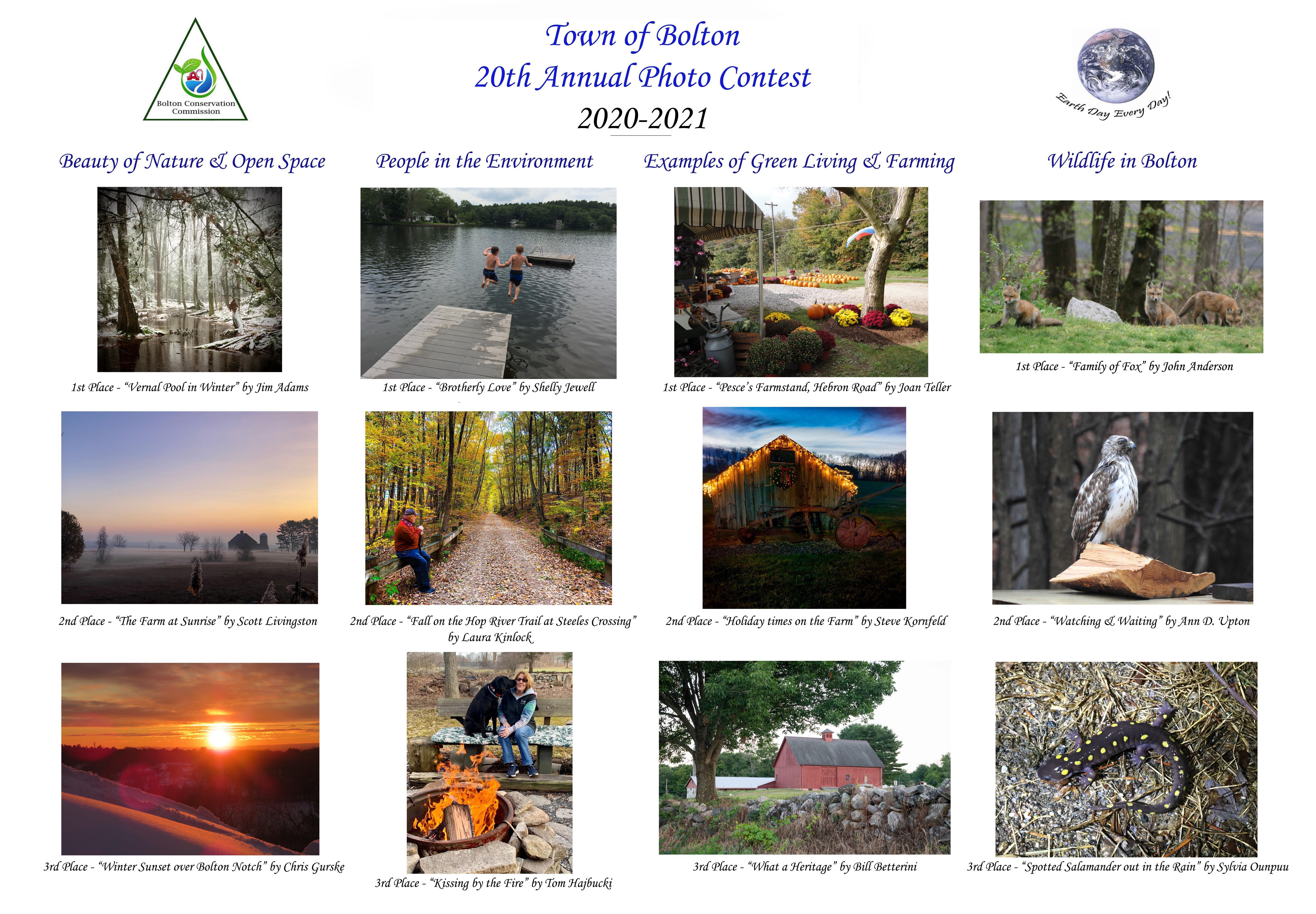 2021 Photo Contest Flyer