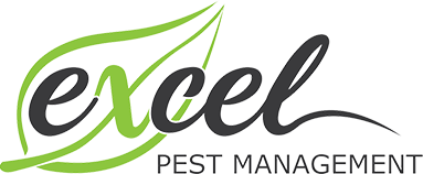 excel pest management white logo