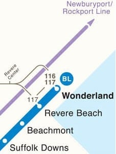 Revere Beach MBTA