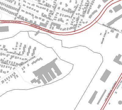 Locus Map Chelsea River