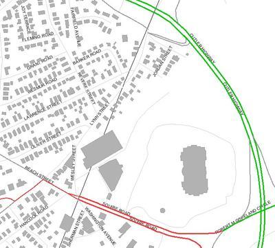 Locus Map Linden Square