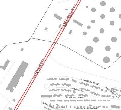 Locus Map Revere Boston Route 1A