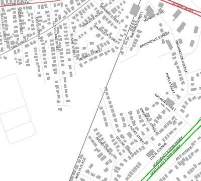 Locus Map Washington Avenue
