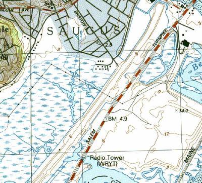 USGS Topographic Map 2