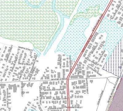 Wetland Resource Areas Kellys Meadows and Lower Revere Street