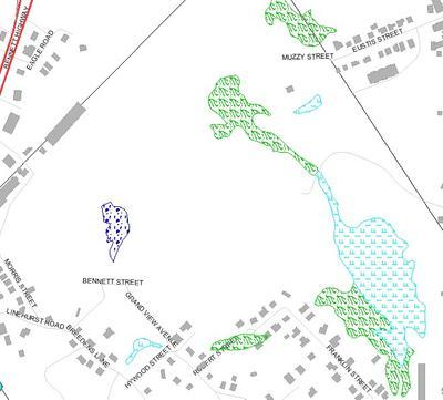 Wetland Resource Areas North Revere Inland