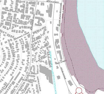 Wetland Resource Areas Revere Beach South
