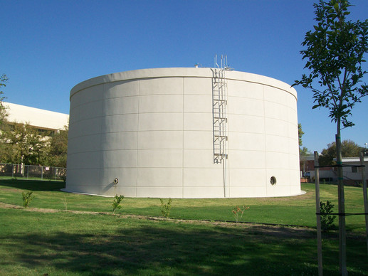 5 Million Gallon Municipal Water Storage Tank in Bakersfield, CA