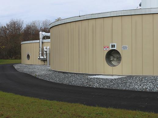 Lewiston-Auburn Wastewater Treatment Plant, Lewiston, ME