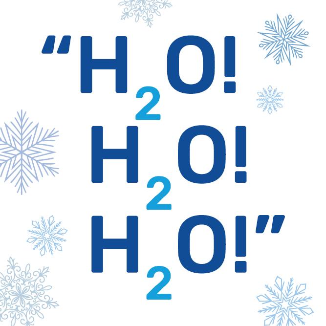 Christmas h2o banner