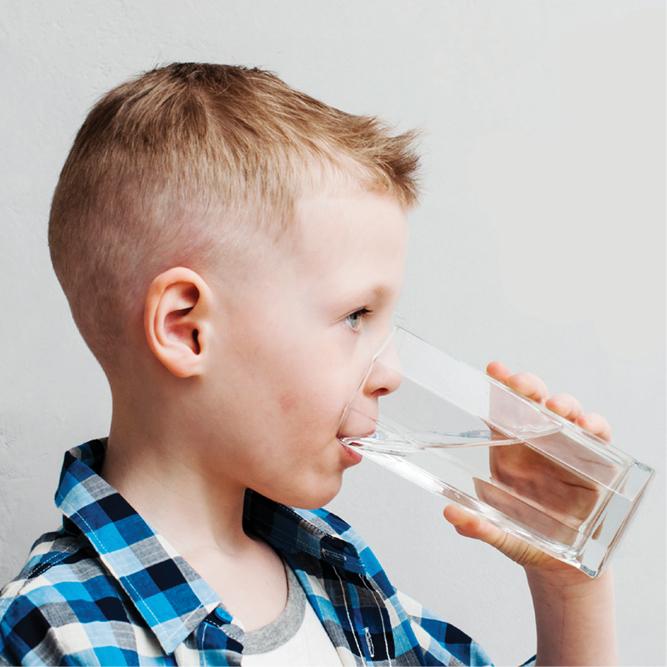 Drinking water PSA banner