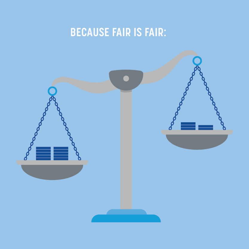 Fair rates banner