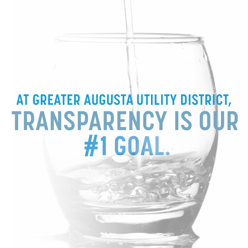 Transparency banner
