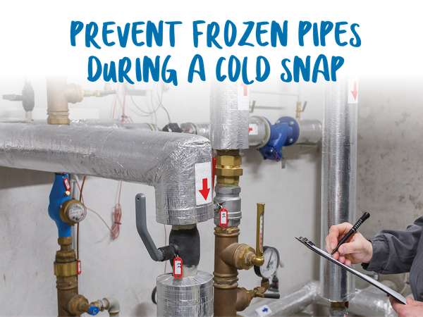 Simple tips to prevent damaged pipes.