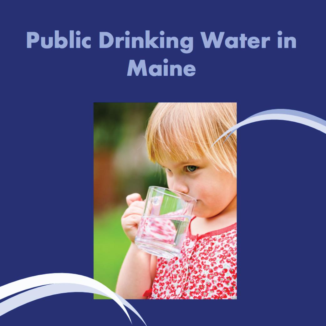 Public drinking water in Maine banner