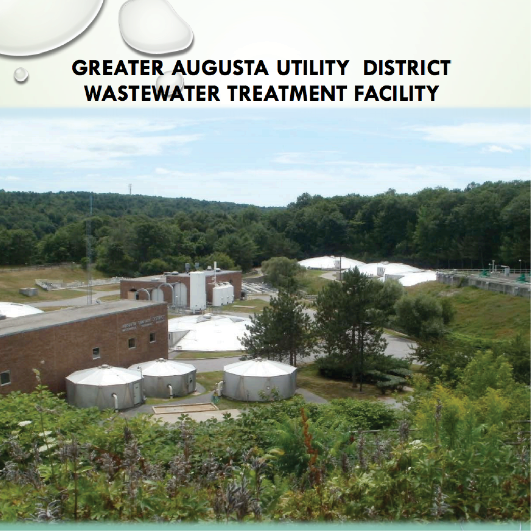 Wastewater treatment facility banner