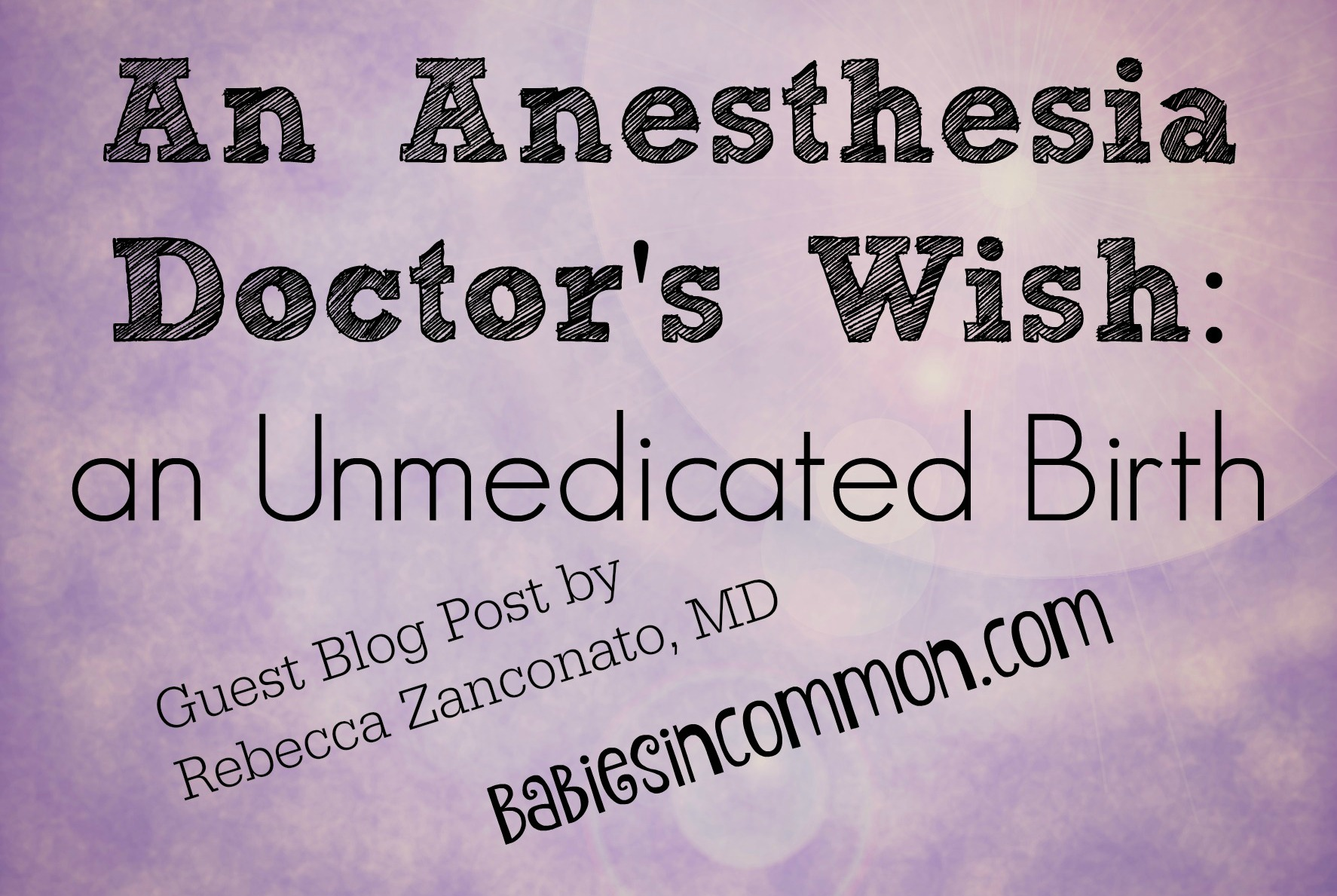 anesthesia doctor's wish title photo