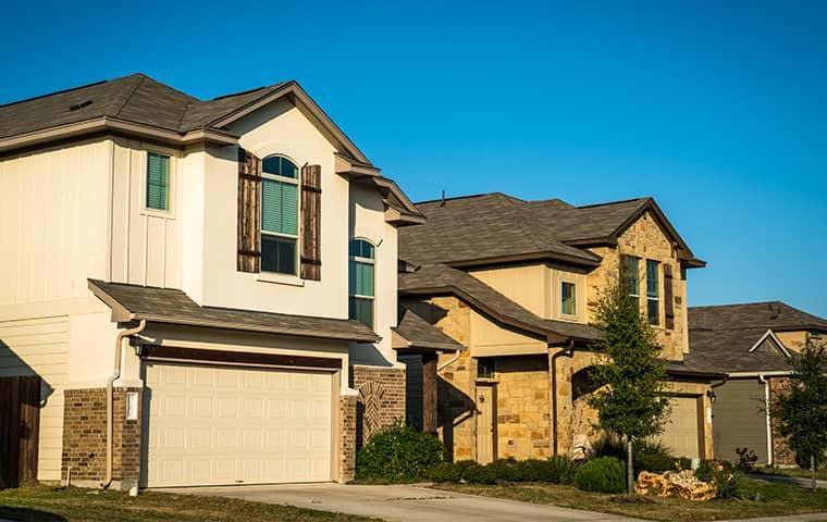 street view of a community of homes in grapevine texas