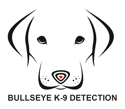 bullseye k9 detection white logo