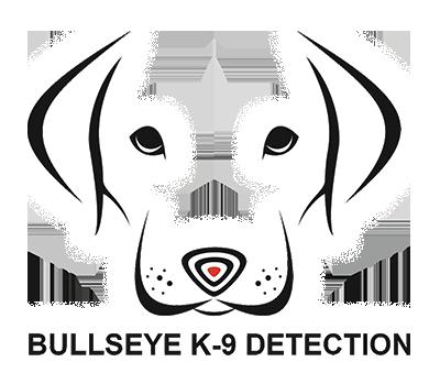 bullseye k9 detection white logo