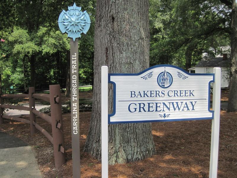 Bakers Creek Greenway and 8th Street Greenway
