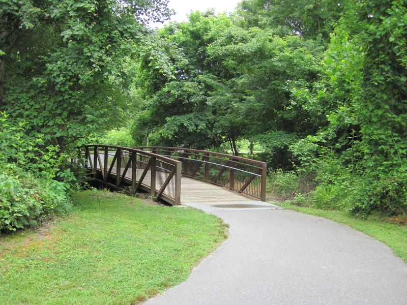 Carolina Thread Trail Marker on Catawba Creek Greenway (Credit: Carolina Thread Trail)