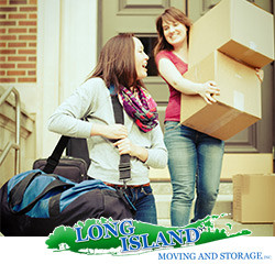 girl leaving home and going to college