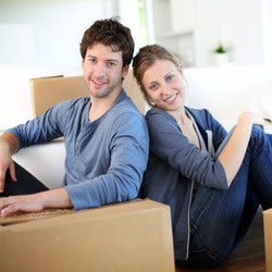 couple preparing to move