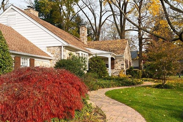 street view of a home and yard in bath pennsylvania