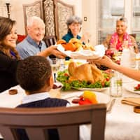 souderton family enjoying a pest free holiday dinner