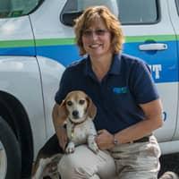 bed bug detection dog and handler