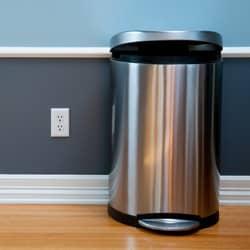 trash can inside pennsylvania home