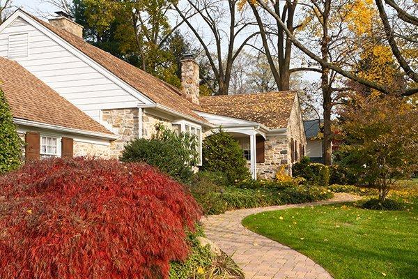 home and walkway in harleysville pennsylvania