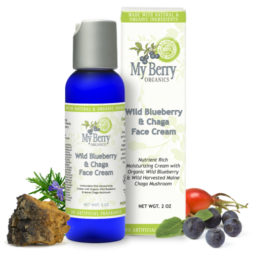 Wild Blueberry & Chaga Face Cream